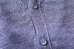 装飾品・ボタンのほつれを確認する
